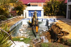 swimming pool removals perth